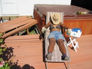 We did most of the work ourselves, including usability testing of the early Suntanning prototype ;-)