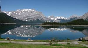 Upper Kananaskis Lake: I love being above the tree line!
